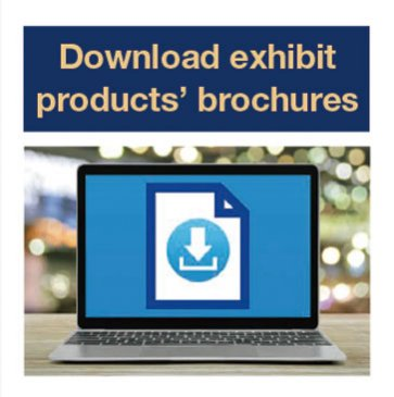 Download exhibit products' brochures