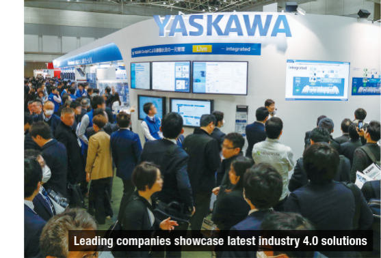 Leading companies showcase latest industry 4.0 solutions